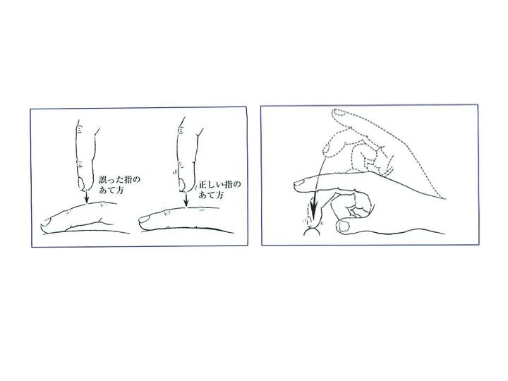 図04 打診の仕方